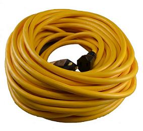 Roofmaster 50 Foot 12-3 UL Extension Cord 300V